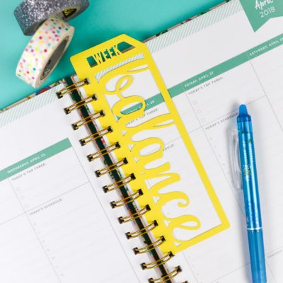 Inspirational Planner Bookmarks