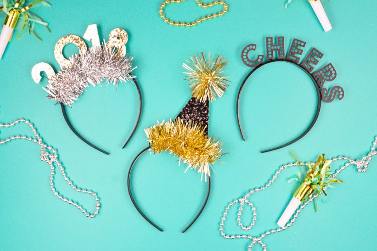 New Year's Eve Party Headbands - Hey, Let's Make Stuff