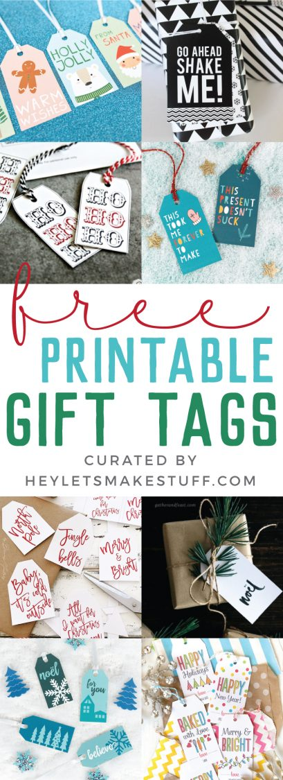 30 free printable gift tags for christmas add some personality to your christmas gift wrap this year with these amazing free printable gift negle Gallery