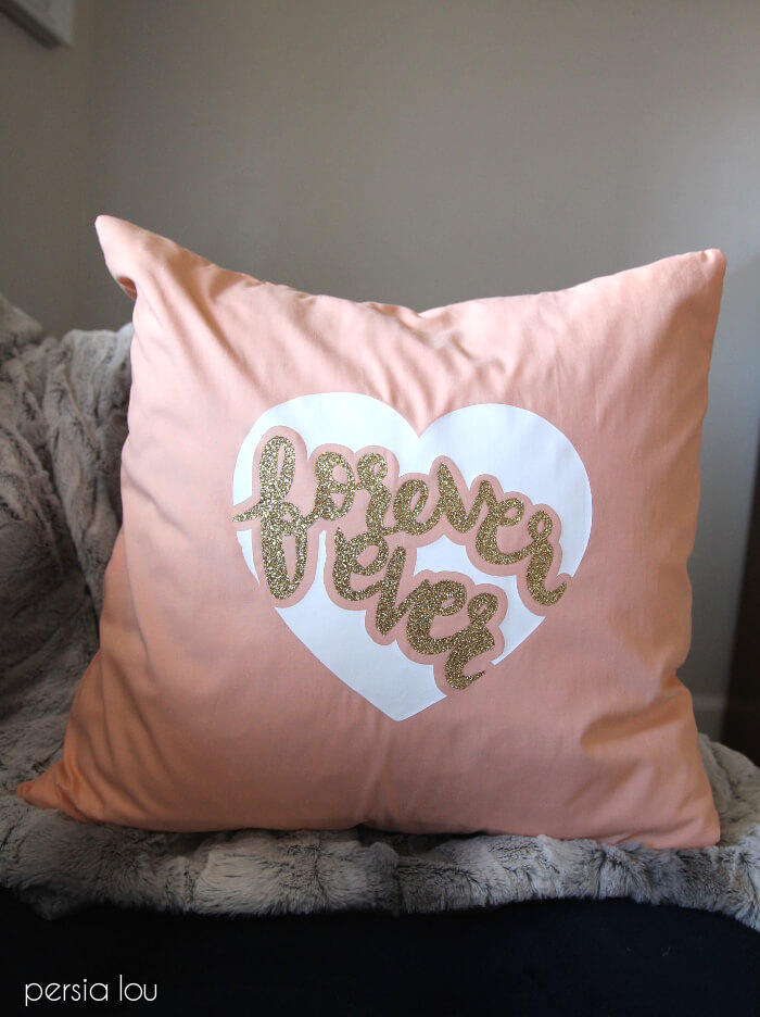 valentine's svg files - heart pillow