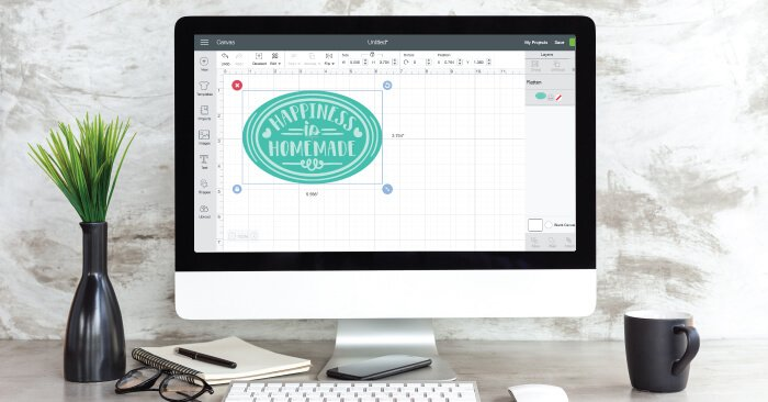 Using Flatten in Cricut Design Space