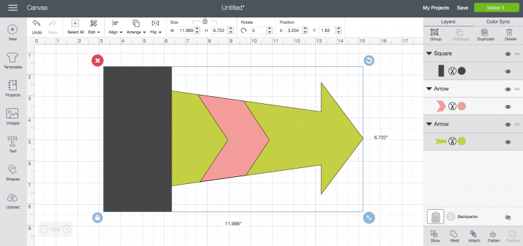 Not sure how (or even why you might want to!) to use Slice in Cricut Design Space? Here's everything you need to know about the slice tool, as well as sample images to show the results of different ways of slicing objects and shapes.