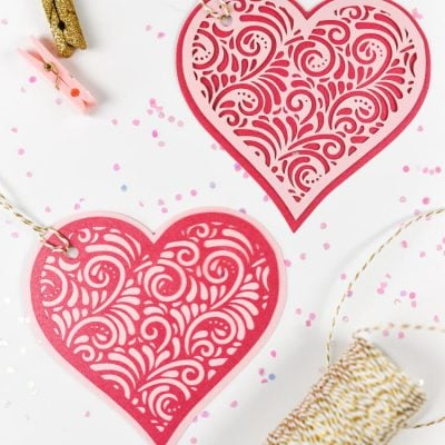 Valentine's Day Cut Paper Hearts – Flash Freebie!