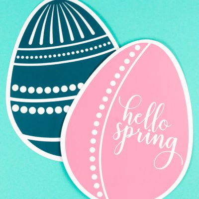 Easter Egg SVGs + Fresh Cuts Spring Bundle