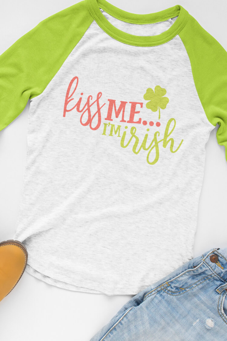 Kiss Me I M Irish Flash Freebie Hey Let S Make Stuff
