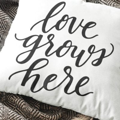 Love Grows Here SVG – Flash Freebie