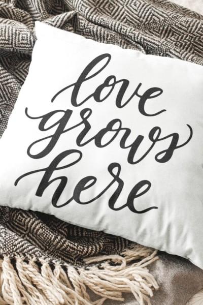 Love Grows Here SVG – Flash Freebie