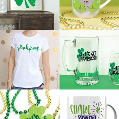 Free SVGs for St. Patrick's Day Round Up