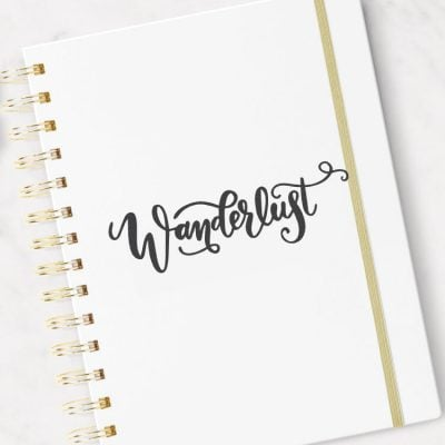 Wanderlust SVG – Flash Freebie