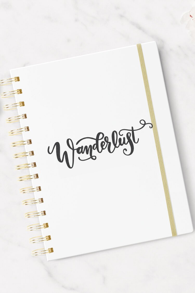 Can't get enough travel? Download this whimsical wanderlust SVG! Show your love for traveling on your water bottle, t-shirt, or tote bag with this adorable travel SVG file.