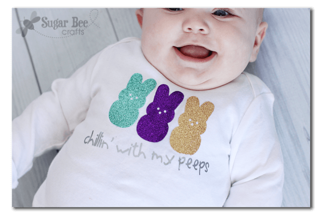 """""""Chilling with my Peeps"""" I'm sharing my favorite FREE SVGs for Easter and spring! All the colors, designs, decor, and adorable characters you'll need for a fun and festive season."""