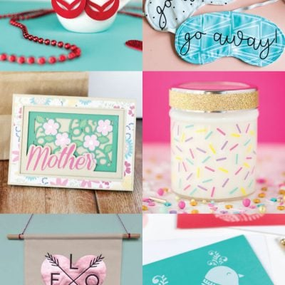 Mother's Day Craft Ideas with the Cricut