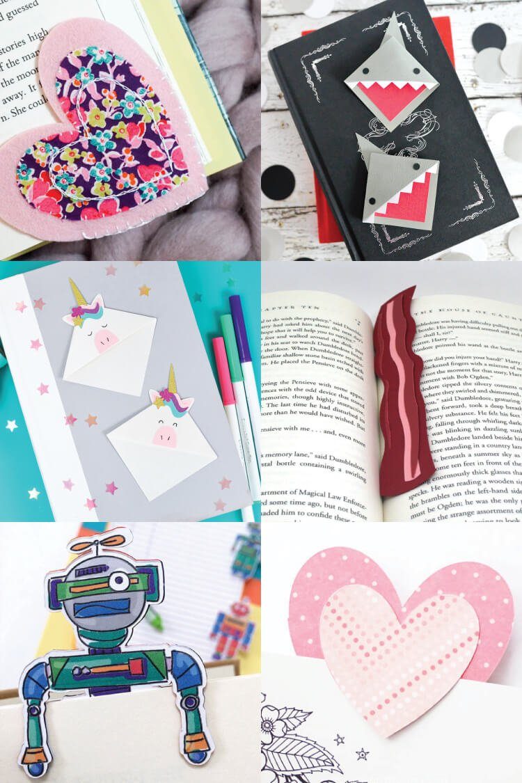 create these fun and easy bookmarks with your cricut and youll never lose