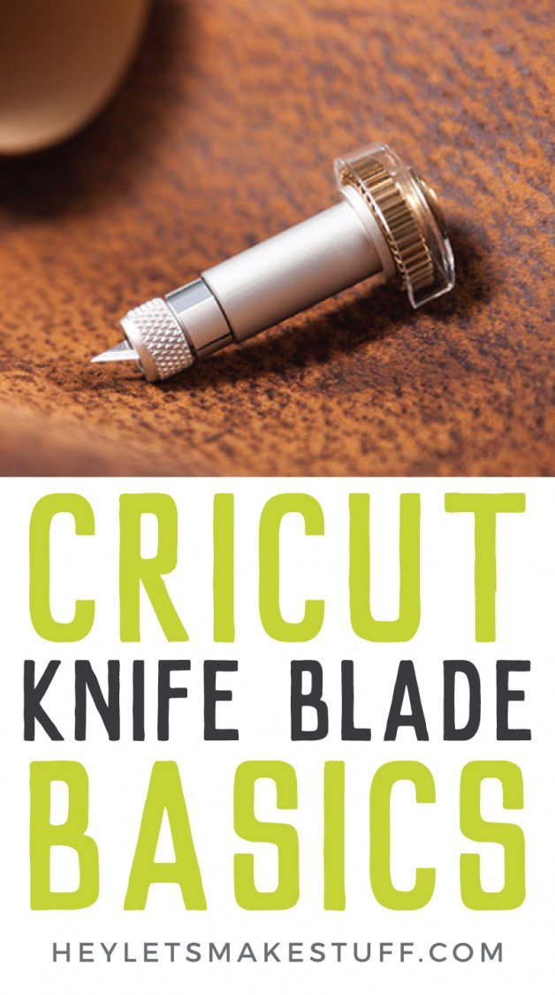 Cricut knife blade basics pin image