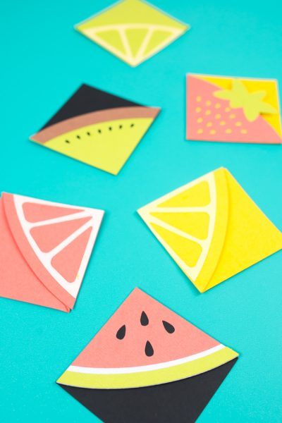 DIY Bookmarks: Fun with Fruit