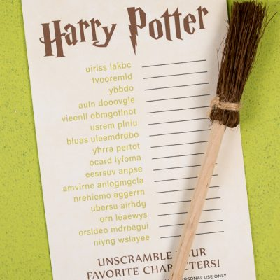 Harry Potter Game: Character Scramble