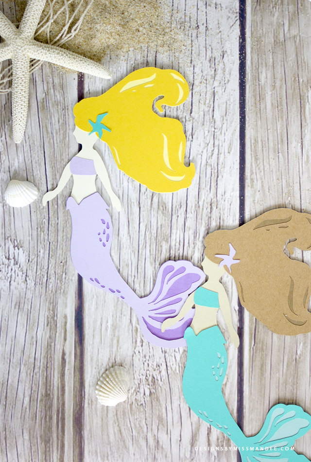 Die Cut Mermaid