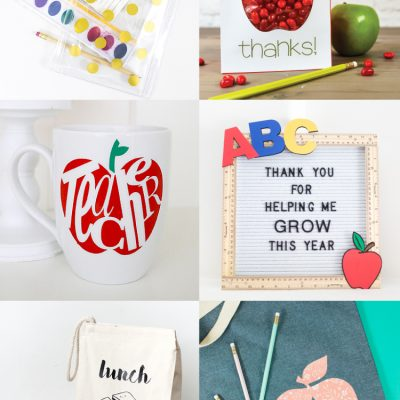 Back to School Crafts with the Cricut