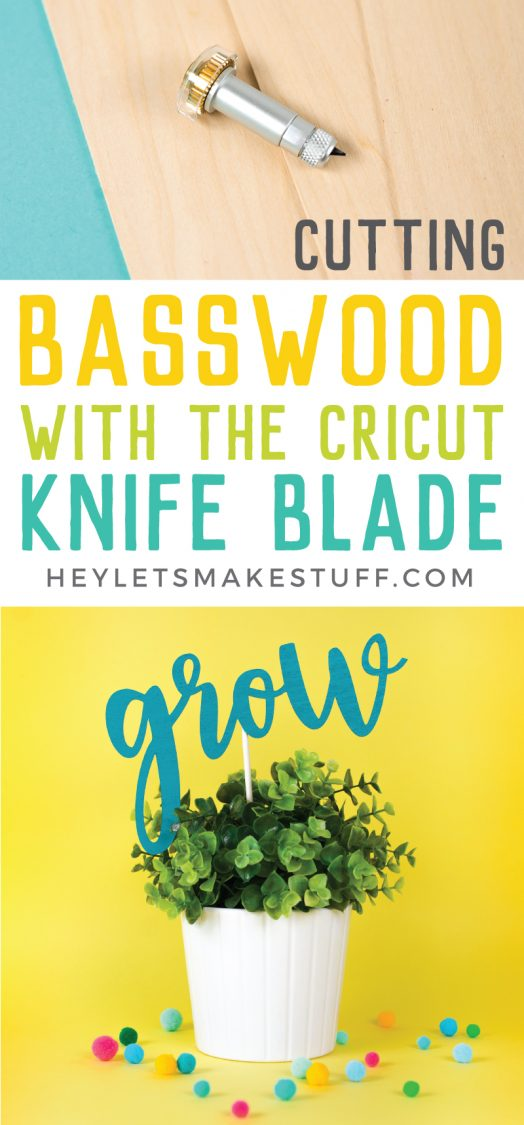 The Cricut Knife Blade is revolutionizing crafting. Get all my best tips for cutting basswood with the Cricut Knife Blade, including where to buy basswood and tricks to ensure your basswood projects turn out great!