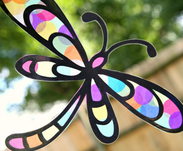 crciut kids sun catchers