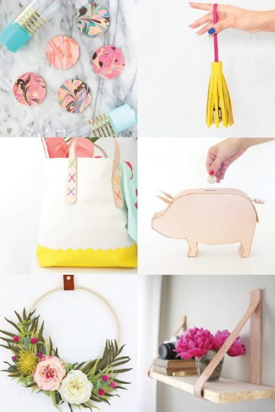 DIY Leather Projects: Crafts, Home Decor, Fashion
