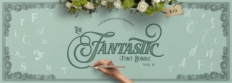 Fantastic Font Bundle via FontBundles.net