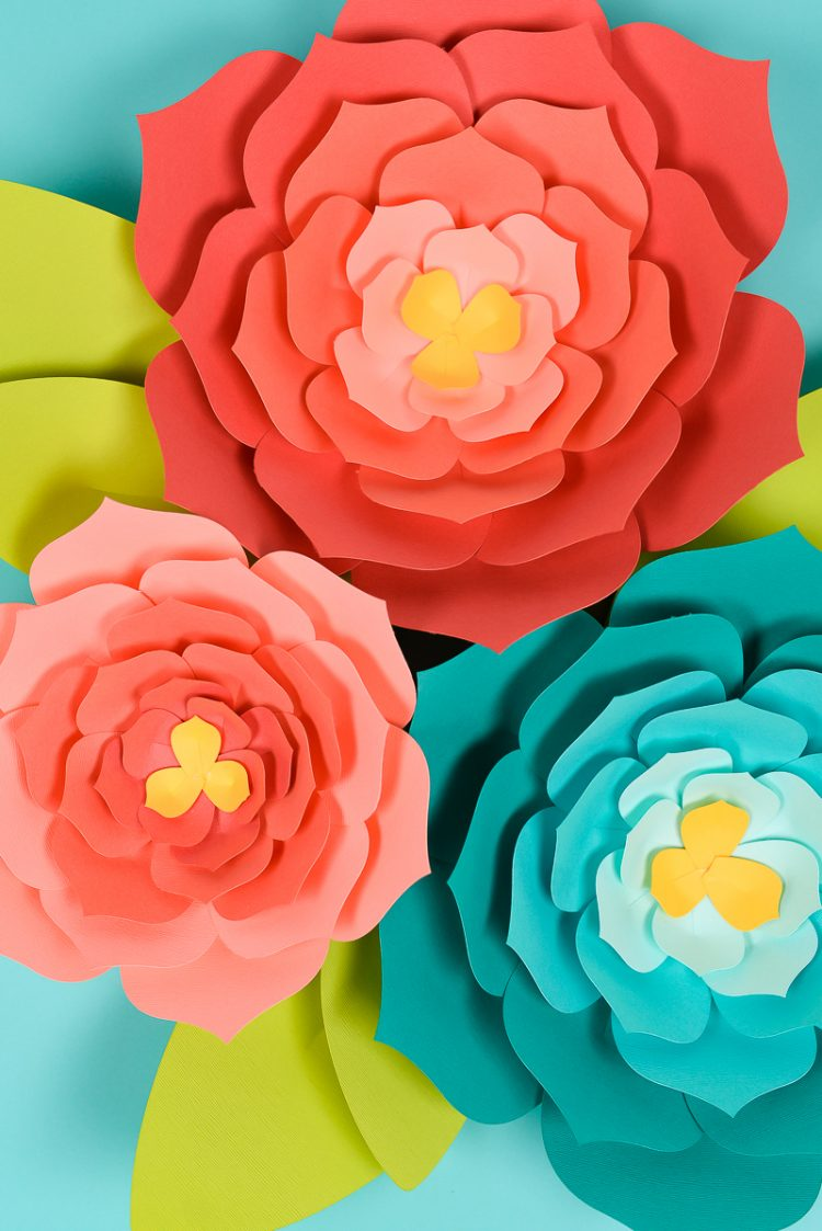 Giant Paper Flowers Template Tips And Tricks To Make It Easy