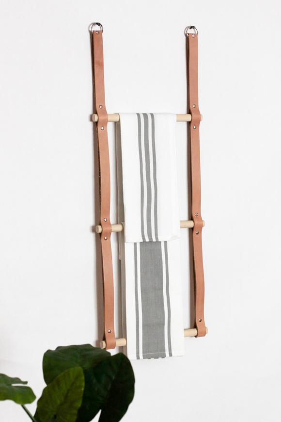 Leather Rack