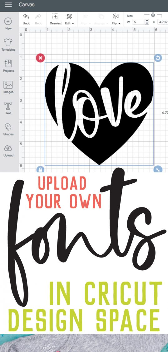 Want to truly customize all your Cricut crafts and projects? Learn how to upload all your favorite fonts on your computer to Cricut Design Space! It's easy and gives you a ton of flexibility when creating your Cricut designs.