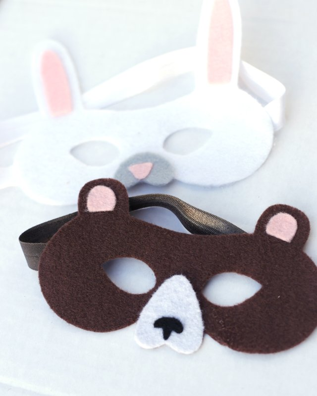 kid felt masks cricut