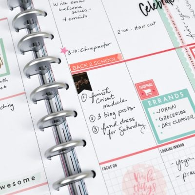 Back to School Planner Stickers + Beginner Planner Tips