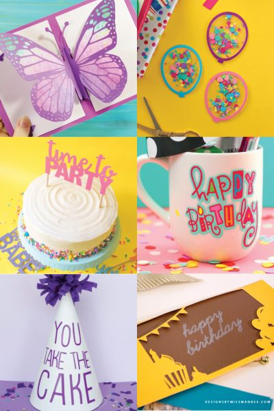 Free Birthday Party SVG Files