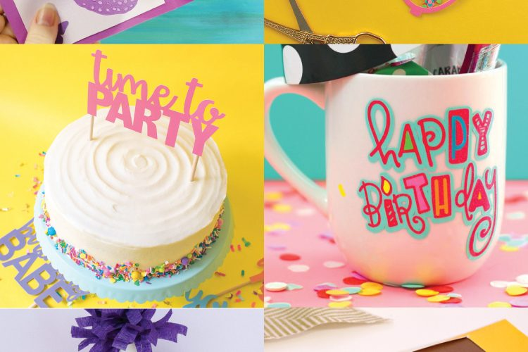 Free Birthday Party SVG Files