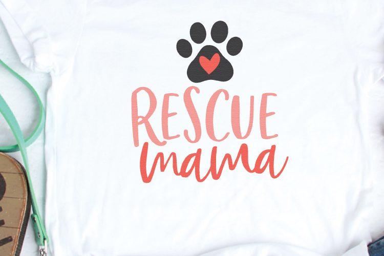Cat and Dog Mom Cut Files + Clip Art