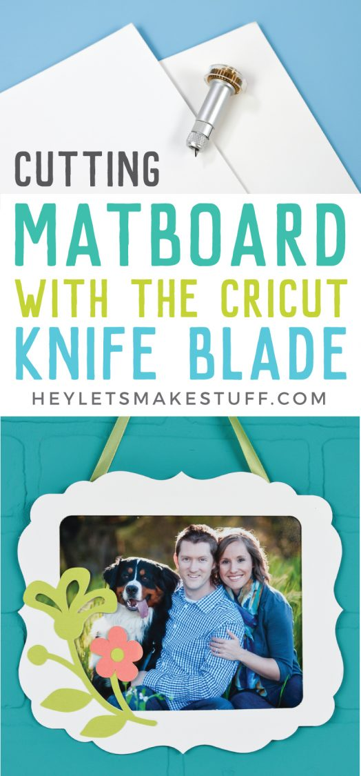 Did you know the Cricut Maker can cut matboard? Get all my best tips for cutting matboard with the Cricut Knife Blade, including tricks to ensure your matboard projects turn out great!