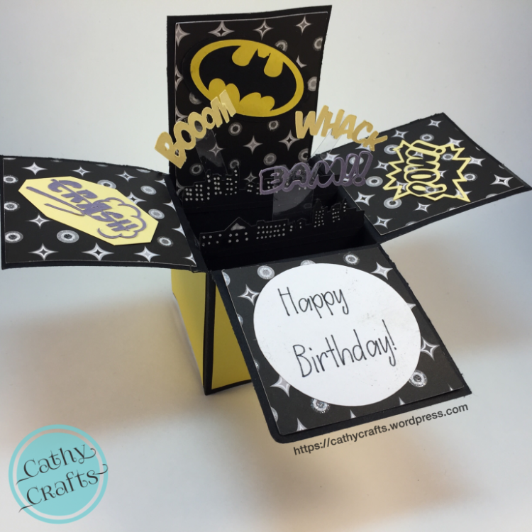 Batman Pop Up Card