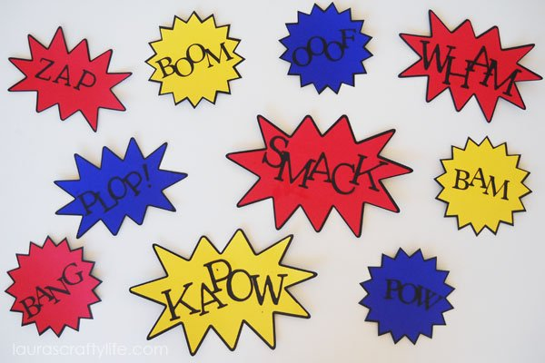 Action Word Signs