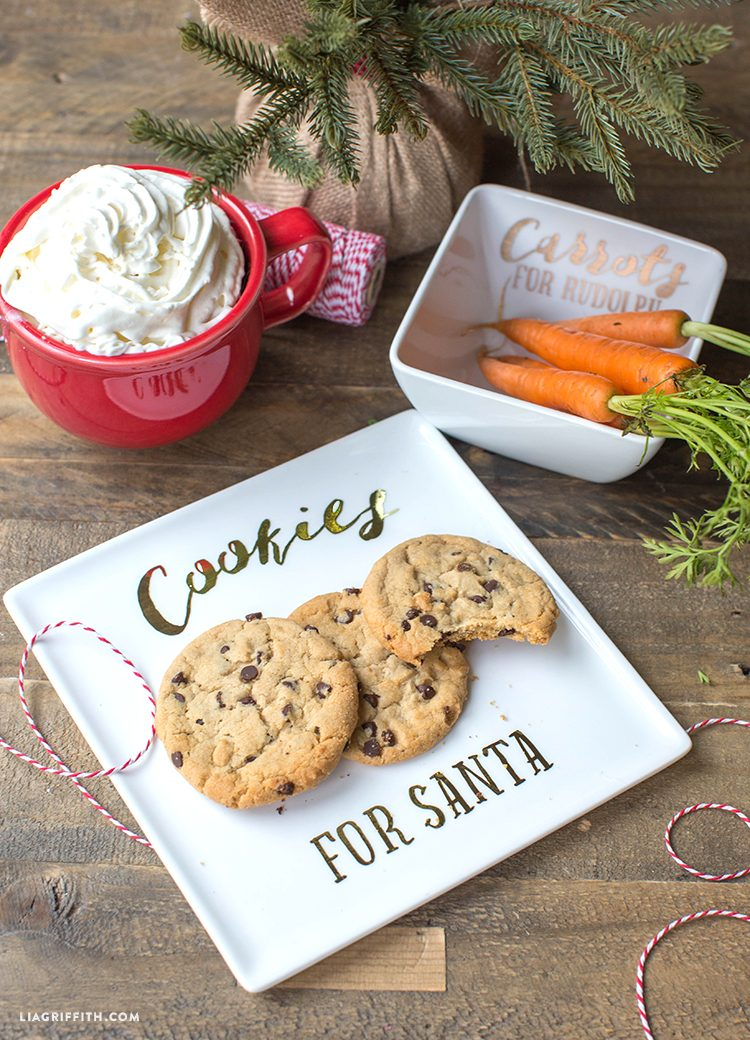 Cookies for Santa Plate - Lia Griffith