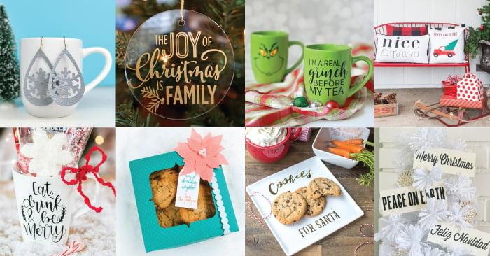 Easy Cricut Christmas Gift Ideas Hey Let S Make Stuff