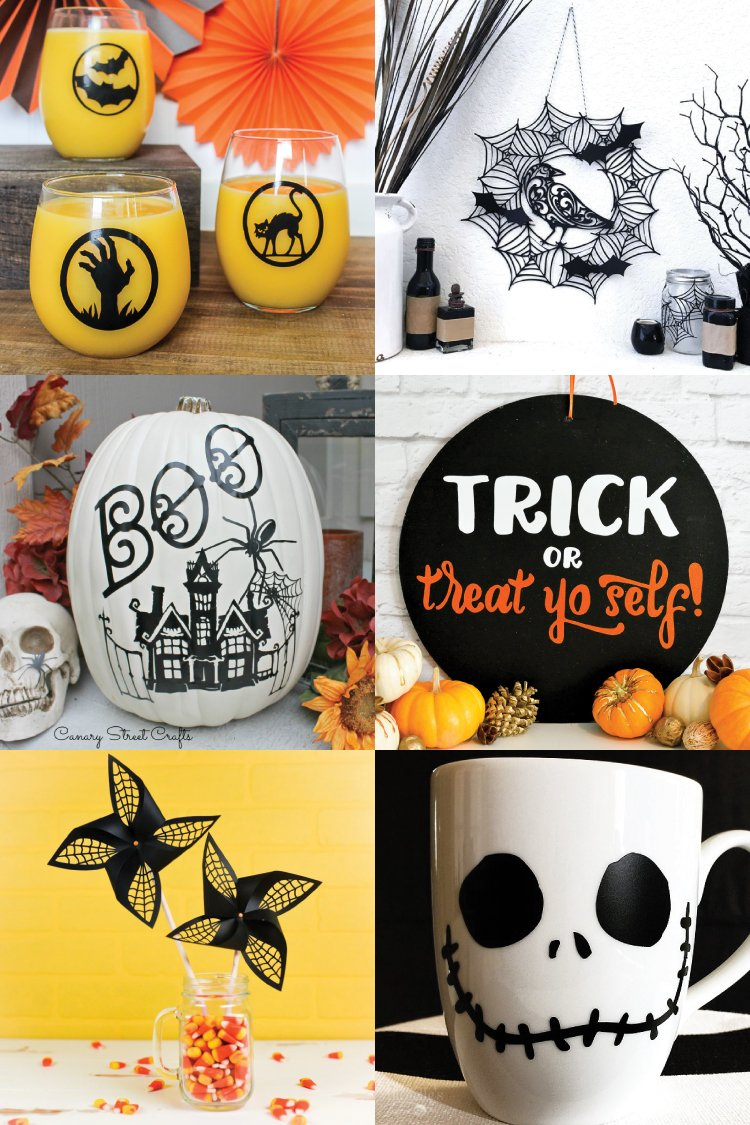 Halloween Crafts and Projects with the Cricut Hey Let s