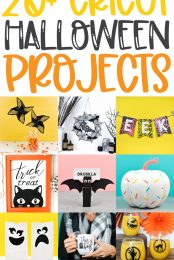20+ Cricut Halloween Projects pin image