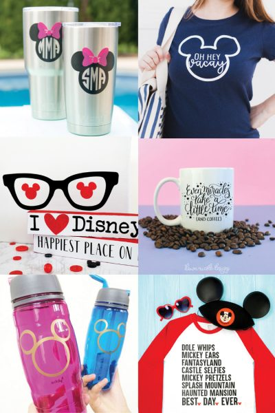 Disney SVG Files and Cricut Crafts