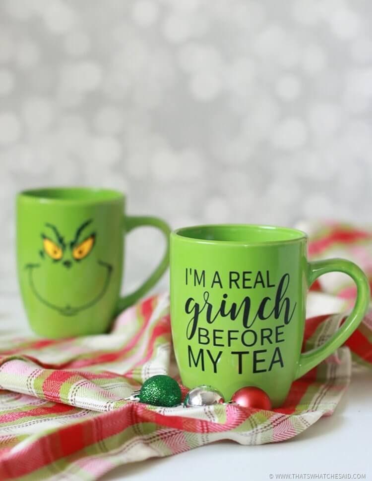 Grinch Coffee / Tea Mugs - That's What Che Said