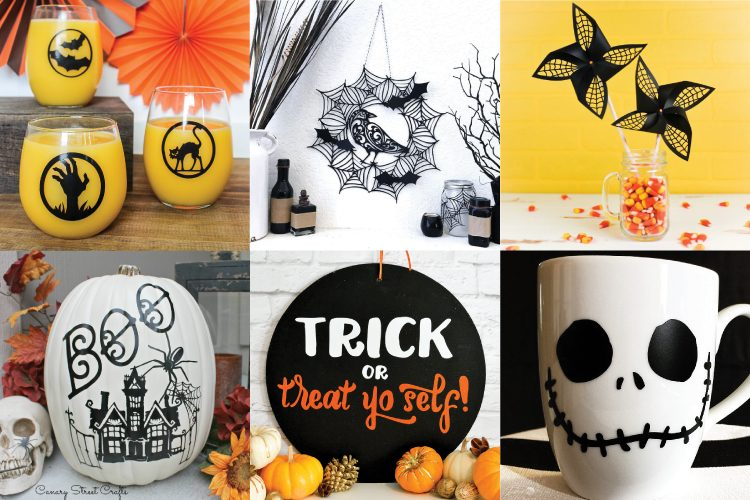 Halloween Crafts and Projects with the Cricut - Hey, Let's Make Stuff