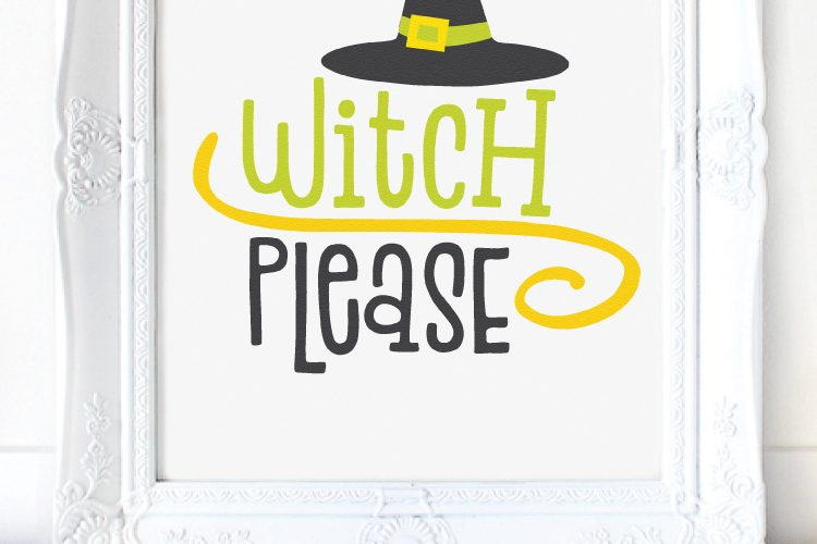 Witch SVG Bundle – Four Wickedly Fun Files!