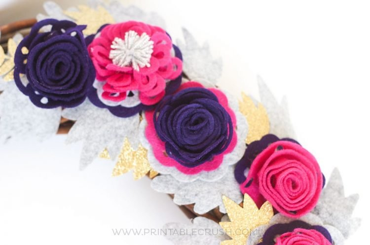 HOW TO MAKE FELT ROSES WITH THE CRICUT MAKER