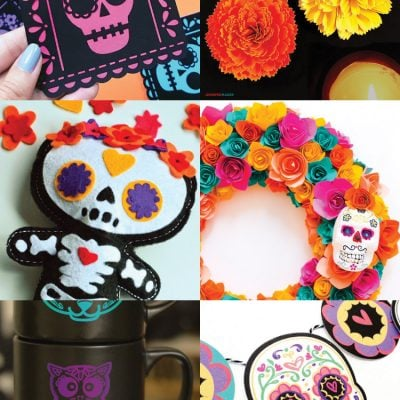 Dia de los Muertos Projects and SVG Files