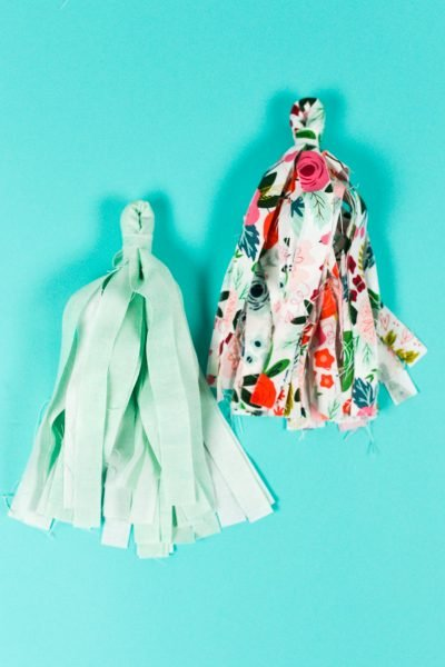 How to Make Fabric Tassels with the Cricut Maker