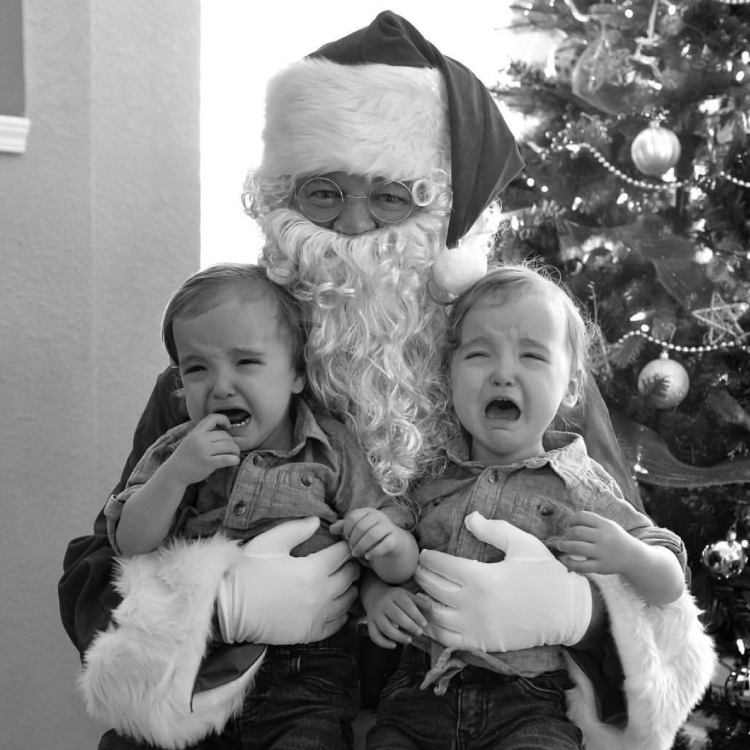 Unhappy with Santa