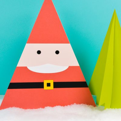 DIY Paper Santa Craft – Cute Christmas Decor